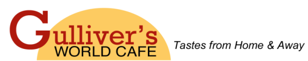 Gulliver's World Cafe Logo